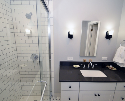 Bathroom Full Remodel Glenview Il Updated Hall Bath